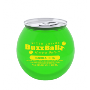 BUZZ BALL MIXED DRINKS TEQUILA RITA 200ML