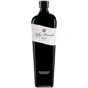FIFTY POUNDS GIN ENGLAND 750ML