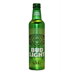 BUD LIGHT LIME ALUMINUM 16OZ BOT