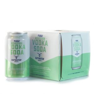 CUTWATER FUGU VODKA SODA CUCUMBER 14PF 4X12OZ CANS