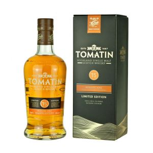 TOMATIN SCOTCH SINGLE MALT MOSCATEL CASKS LIMITED EDITION 92PF 15YR 750ML