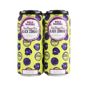 WILD BARREL VICE BLACK CURRANT SOUR BERLINER WEISSE STYLE 4X16OZ CAN